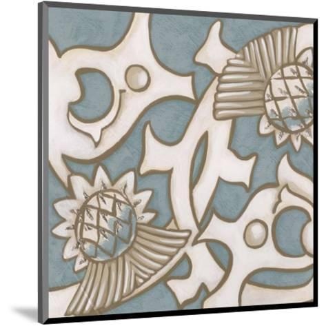 Ornamental Leaf I-Vision Studio-Mounted Art Print
