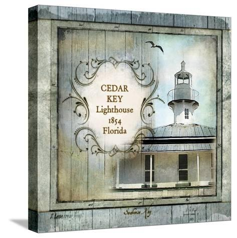 Florida Lighthouse IV-Beth Anne Creative-Stretched Canvas Print