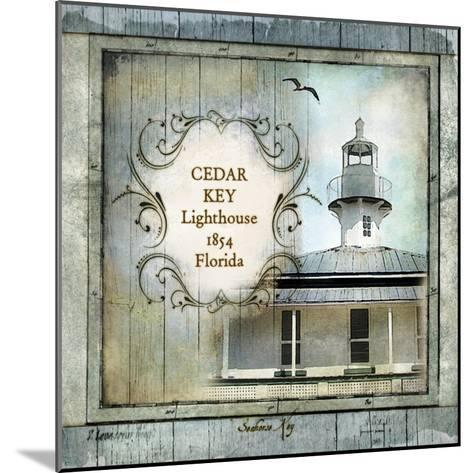 Florida Lighthouse IV-Beth Anne Creative-Mounted Art Print