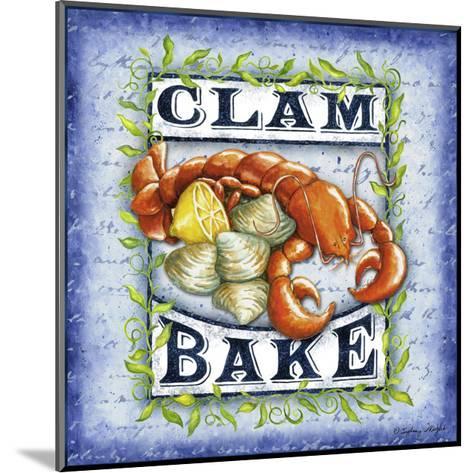 Seafood Sign III-Sydney Wright-Mounted Art Print