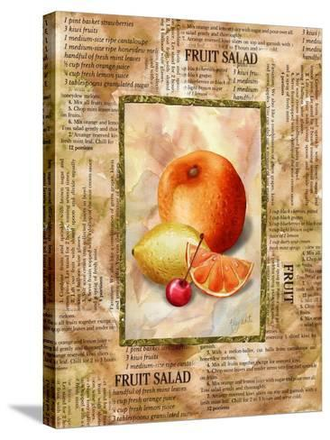 Mixed Fruit II-Abby White-Stretched Canvas Print