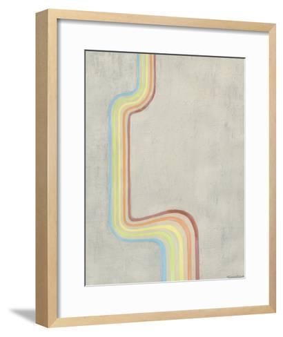 Retro Rhythm IV-Vanna Lam-Framed Art Print