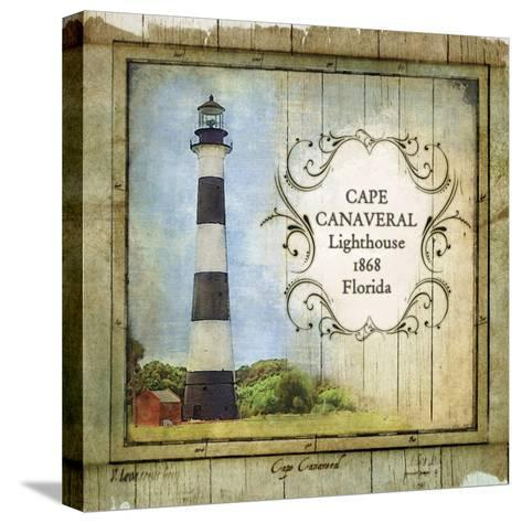 Florida Lighthouse II-Beth Anne Creative-Stretched Canvas Print