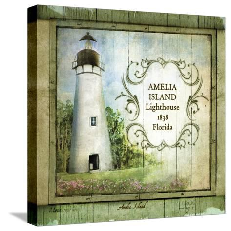 Florida Lighthouse I-Beth Anne Creative-Stretched Canvas Print