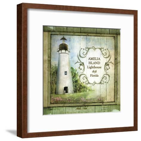 Florida Lighthouse I-Beth Anne Creative-Framed Art Print