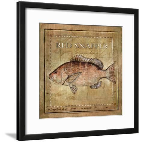 Ocean Fish VII-Beth Anne Creative-Framed Art Print