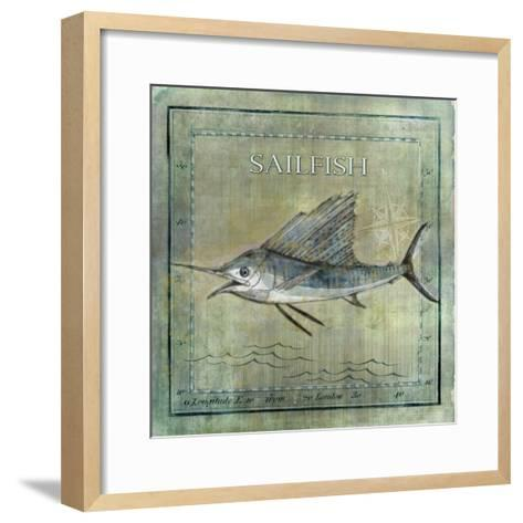 Ocean Fish VIII-Beth Anne Creative-Framed Art Print