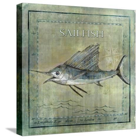 Ocean Fish VIII-Beth Anne Creative-Stretched Canvas Print