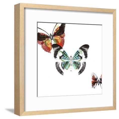 Butterflies Dance III-A. Project-Framed Art Print