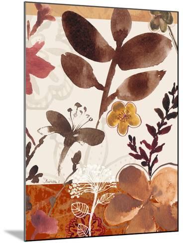 Modern Flowers II-Marietta Cohen-Mounted Art Print