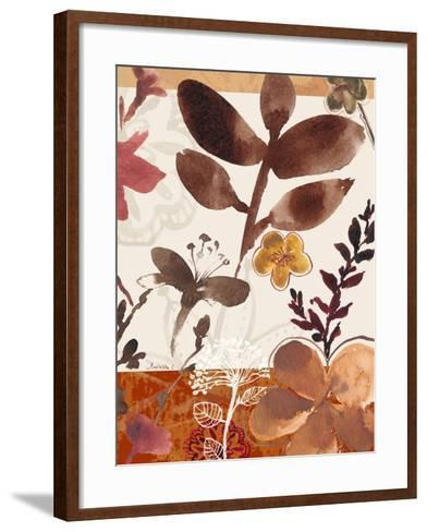 Modern Flowers II-Marietta Cohen-Framed Art Print