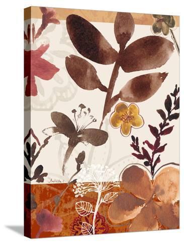 Modern Flowers II-Marietta Cohen-Stretched Canvas Print