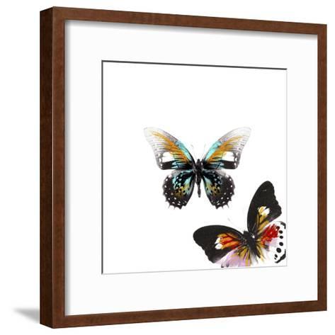 Butterflies Dance VI-A. Project-Framed Art Print