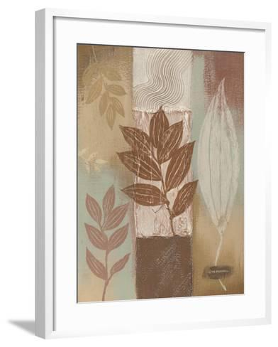 Spa Silhouette III-Wendy Russell-Framed Art Print
