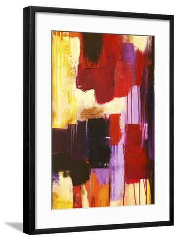 Raspberry Beret I-Erin Ashley-Framed Art Print