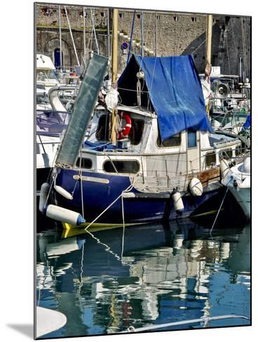 Antibes Harbor II-Rachel Perry-Mounted Photographic Print