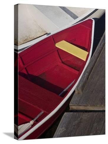 Row Boats VI-Rachel Perry-Stretched Canvas Print