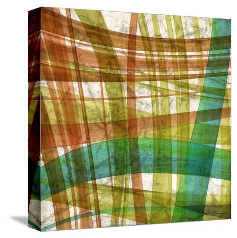 Paintstroke Tile IV-Jason Higby-Stretched Canvas Print