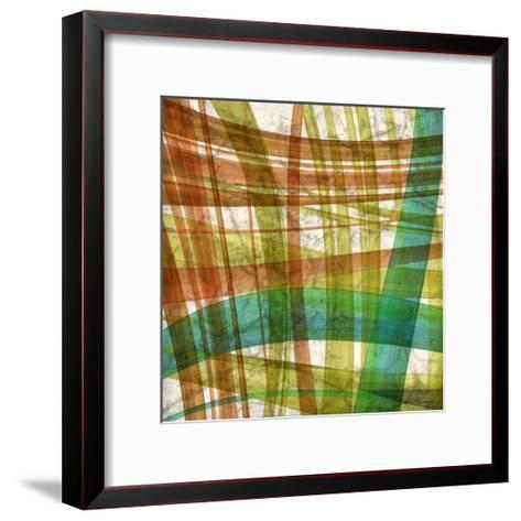 Paintstroke Tile IV-Jason Higby-Framed Art Print