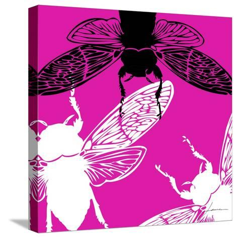 Pop Fly II-James Burghardt-Stretched Canvas Print