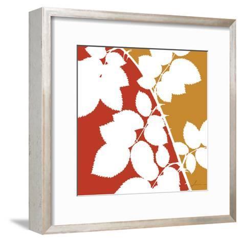 Split Stem IV-James Burghardt-Framed Art Print