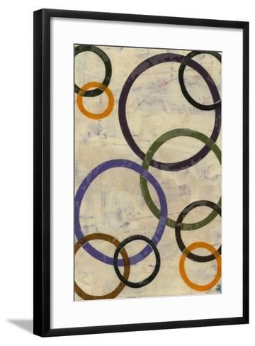 Round-n-Round I-Natalie Avondet-Framed Art Print