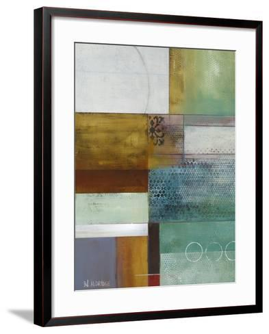 Cosmopolitan Abstract I-Willie Green-Aldridge-Framed Art Print