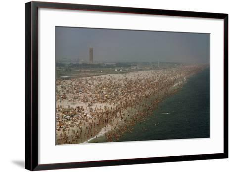 Jones Beach State Park, Long Island, New York, Millions of People Visit Jones Beach Each Summer-Robert Sisson-Framed Art Print