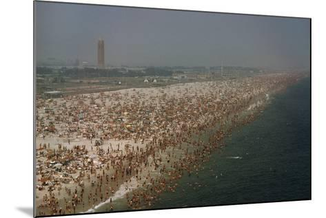 Jones Beach State Park, Long Island, New York, Millions of People Visit Jones Beach Each Summer-Robert Sisson-Mounted Photographic Print