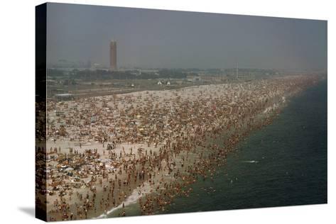Jones Beach State Park, Long Island, New York, Millions of People Visit Jones Beach Each Summer-Robert Sisson-Stretched Canvas Print