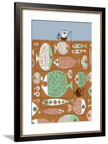 Waiting for the Big One-Melinda Beck-Framed Art Print