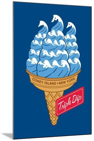 Coney Island Triple Dip-Melinda Beck-Mounted Art Print