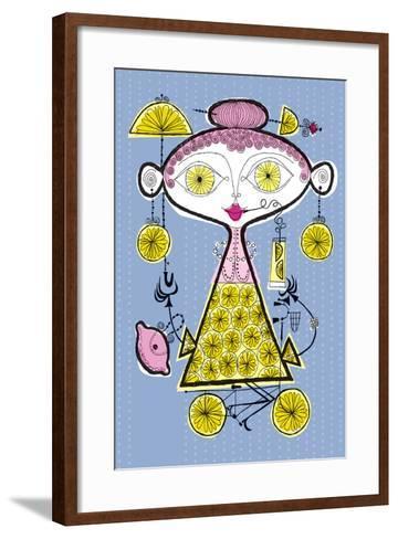 When Life Gives You Lemons-Melinda Beck-Framed Art Print
