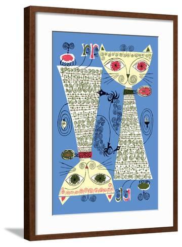 Copy Cat-Melinda Beck-Framed Art Print