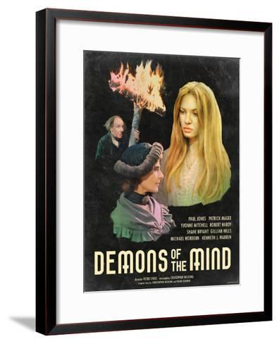Demons of the Mind 1972--Framed Art Print