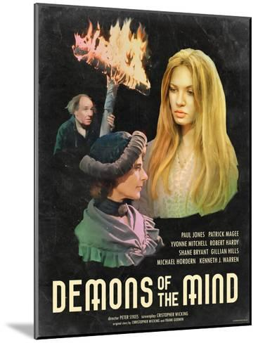 Demons of the Mind 1972--Mounted Art Print
