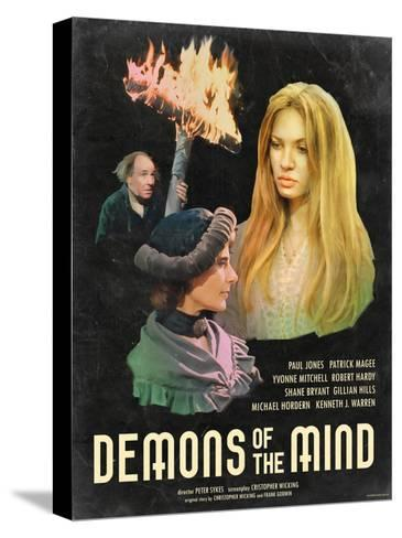 Demons of the Mind 1972--Stretched Canvas Print
