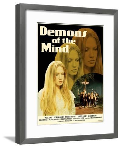 Demons of the Mind 1972 (Yellow)--Framed Art Print