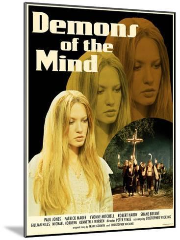 Demons of the Mind 1972 (Yellow)--Mounted Art Print
