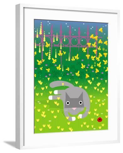 Laying in Garden-Artistan-Framed Art Print