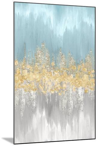 Neutral Wave Lengths III-Eva Watts-Mounted Art Print