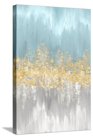 Neutral Wave Lengths III-Eva Watts-Stretched Canvas Print