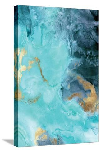Gold Under the Sea II-Eva Watts-Stretched Canvas Print