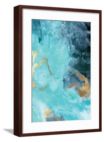 Gold Under the Sea II-Eva Watts-Framed Art Print