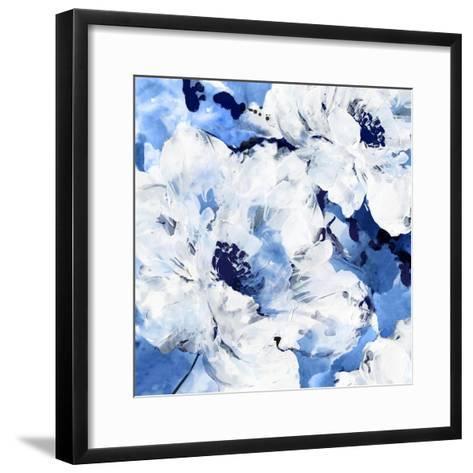 Little Blue I-Eva Watts-Framed Art Print