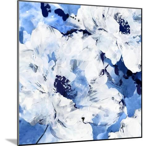 Little Blue I-Eva Watts-Mounted Art Print