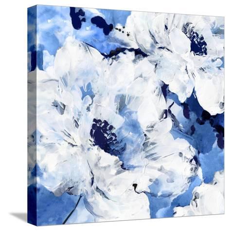 Little Blue I-Eva Watts-Stretched Canvas Print