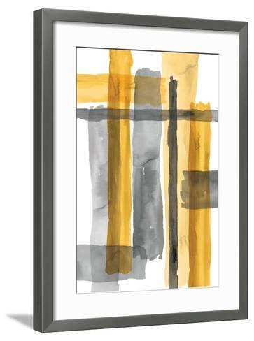 Golden Criss Cross-Eva Watts-Framed Art Print