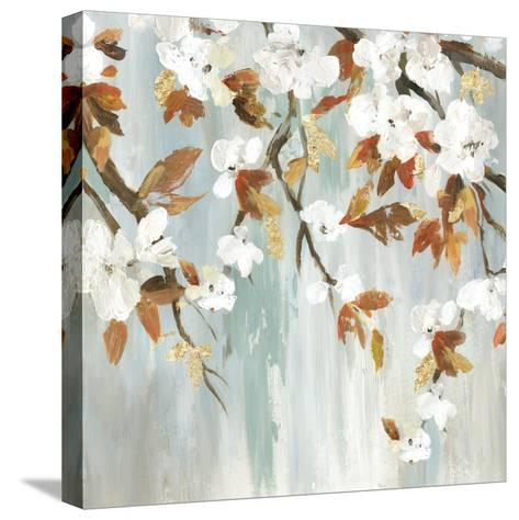 Golden Blooms III-Asia Jensen-Stretched Canvas Print