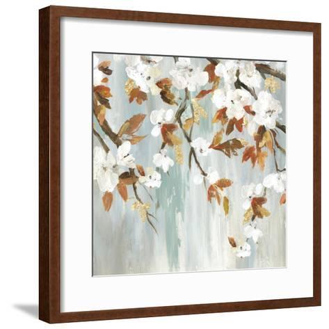 Golden Blooms III-Asia Jensen-Framed Art Print